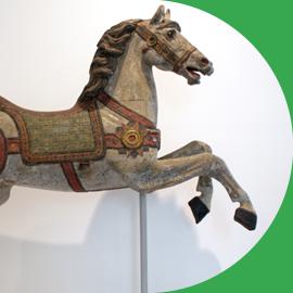 Cavallo Di Legno Giocattolo.I Cavalli Giocattolo Museo Del Cavallo Giocattolo